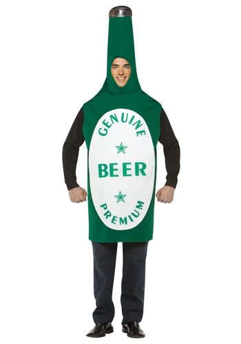 Green Beer Bottle Costume