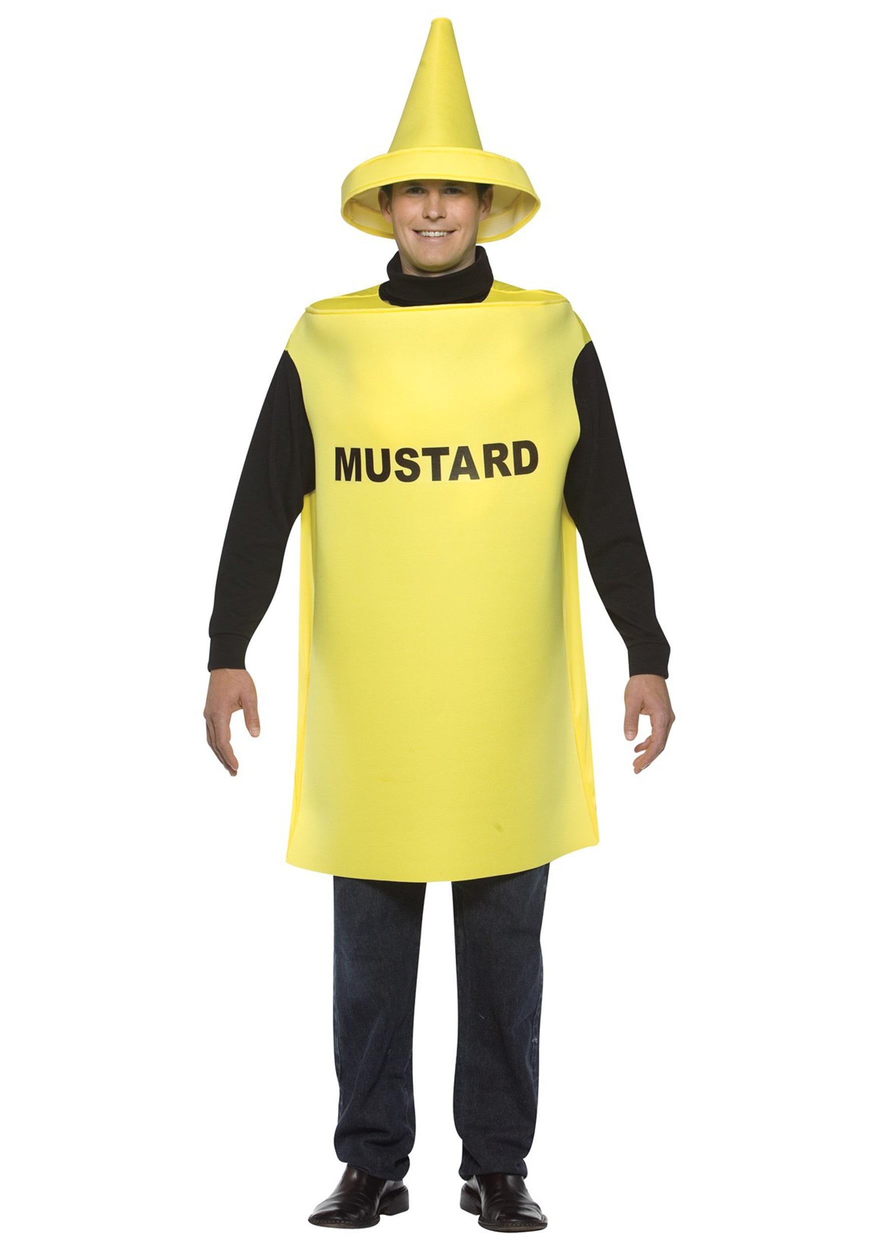 Mustard Costume  sc 1 st  Halloween Costume & Mustard Costume - Adult Mustard and Ketchup Costumes