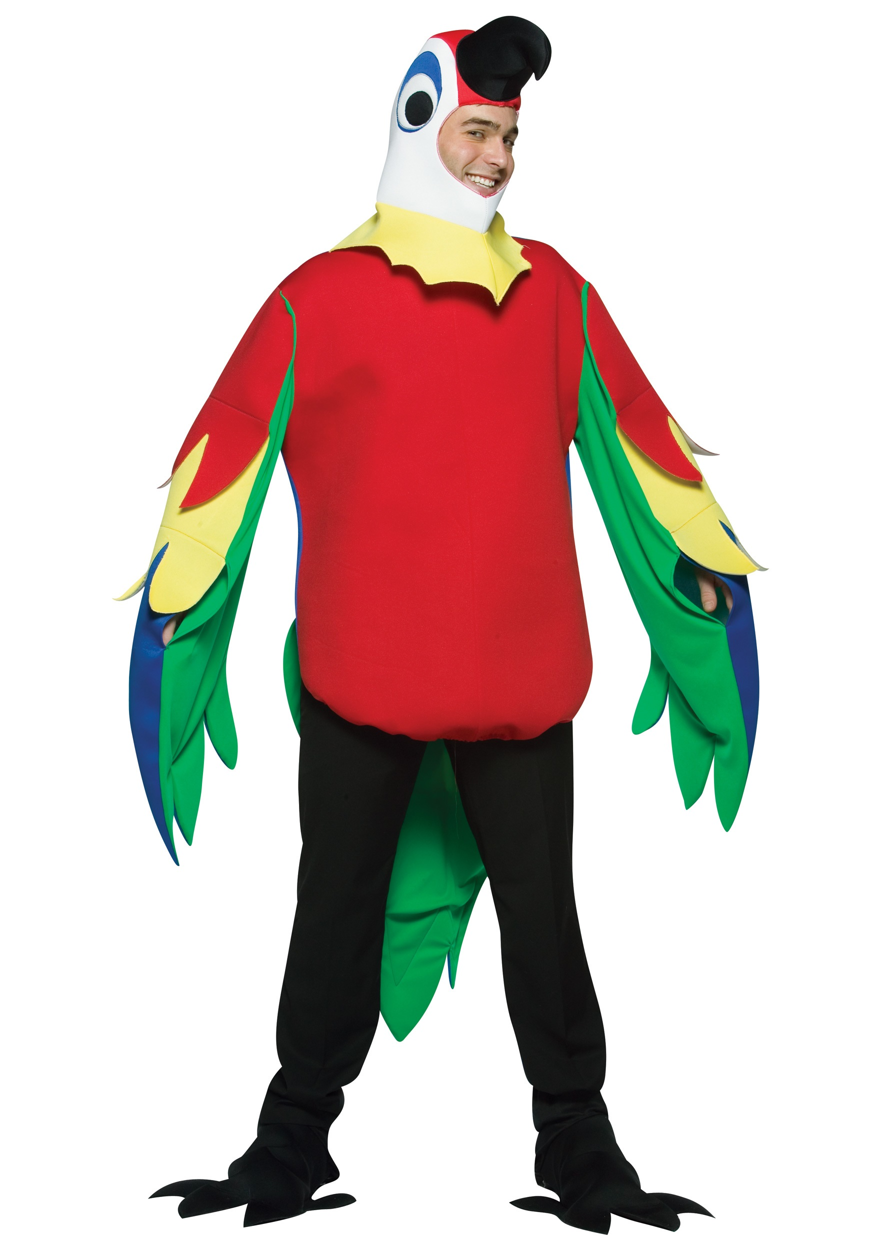 Mens Parrot Costume  sc 1 st  Halloween Costume & Mens Parrot Costume - Animal and Pirate Halloween Costumes