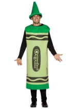 Green Crayon Adult Costume