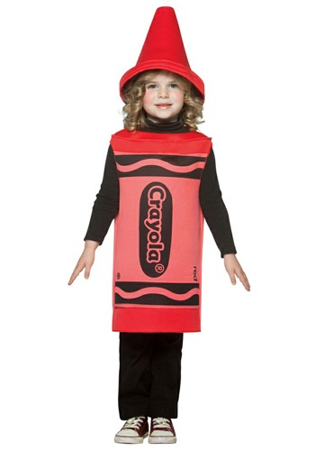 Red Crayon Toddler Costume