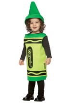 Green Crayon Toddler Costume