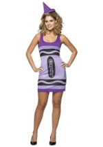 Womens Wisteria Crayon Dress