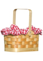 Wicker Basket Purse
