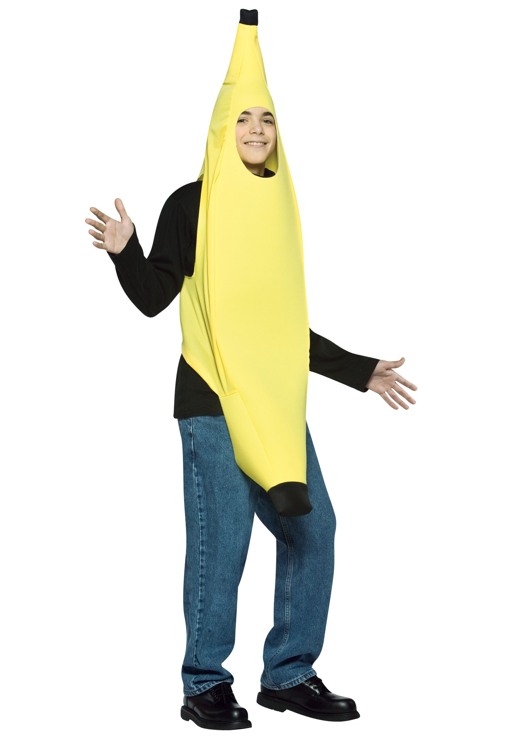 Teen Banana Suit  sc 1 st  Halloween Costume & Teen Banana Suit - Funny Halloween Costumes for Teens