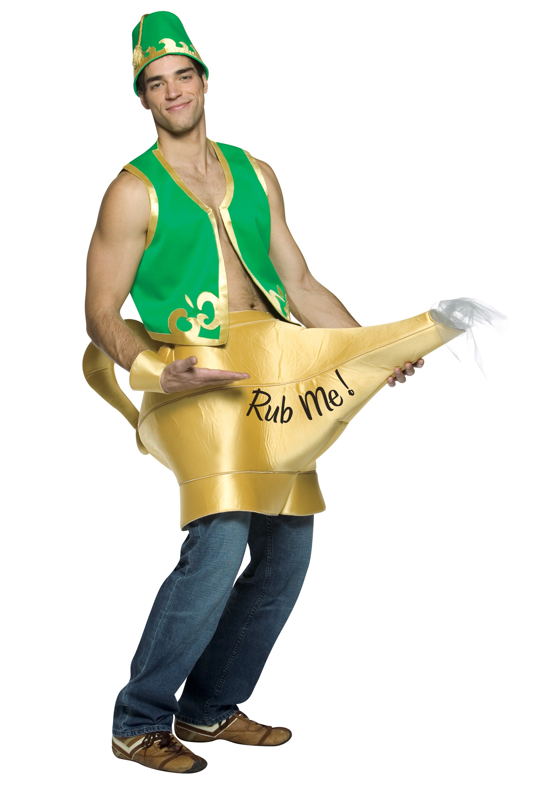 Magic L& and Genie Costume  sc 1 st  Halloween Costume & Magic Lamp and Genie Costume - Funny Costumes