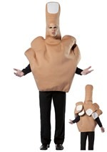 Offensive Middle Finger Costume