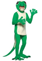 Mens Green Gecko Costume