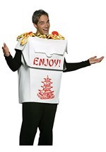 Chinese Take Out Box Costume