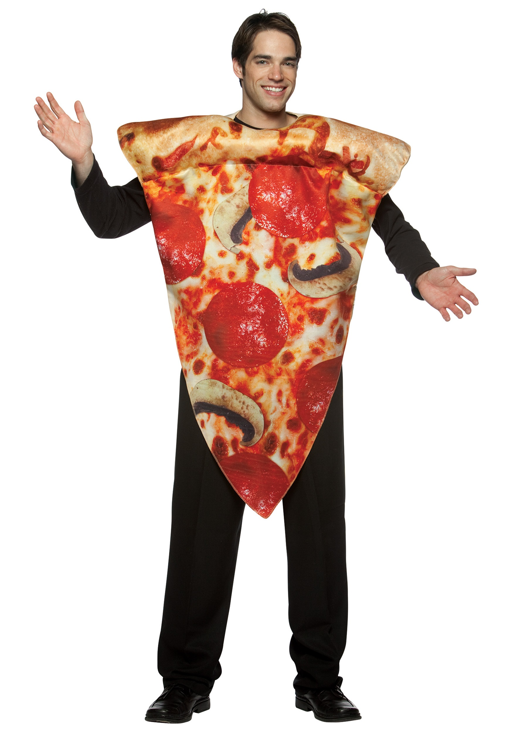 pepperoni pizza costume - funny costumes for adults
