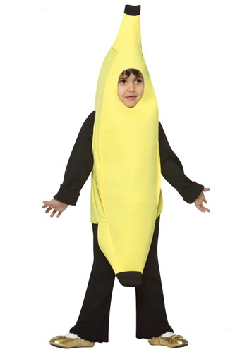 Banana Toddler Costume