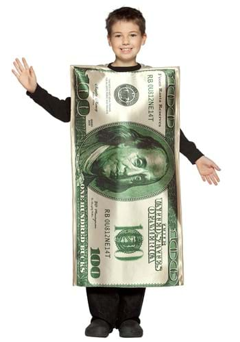 $100 Bill Kids Costume