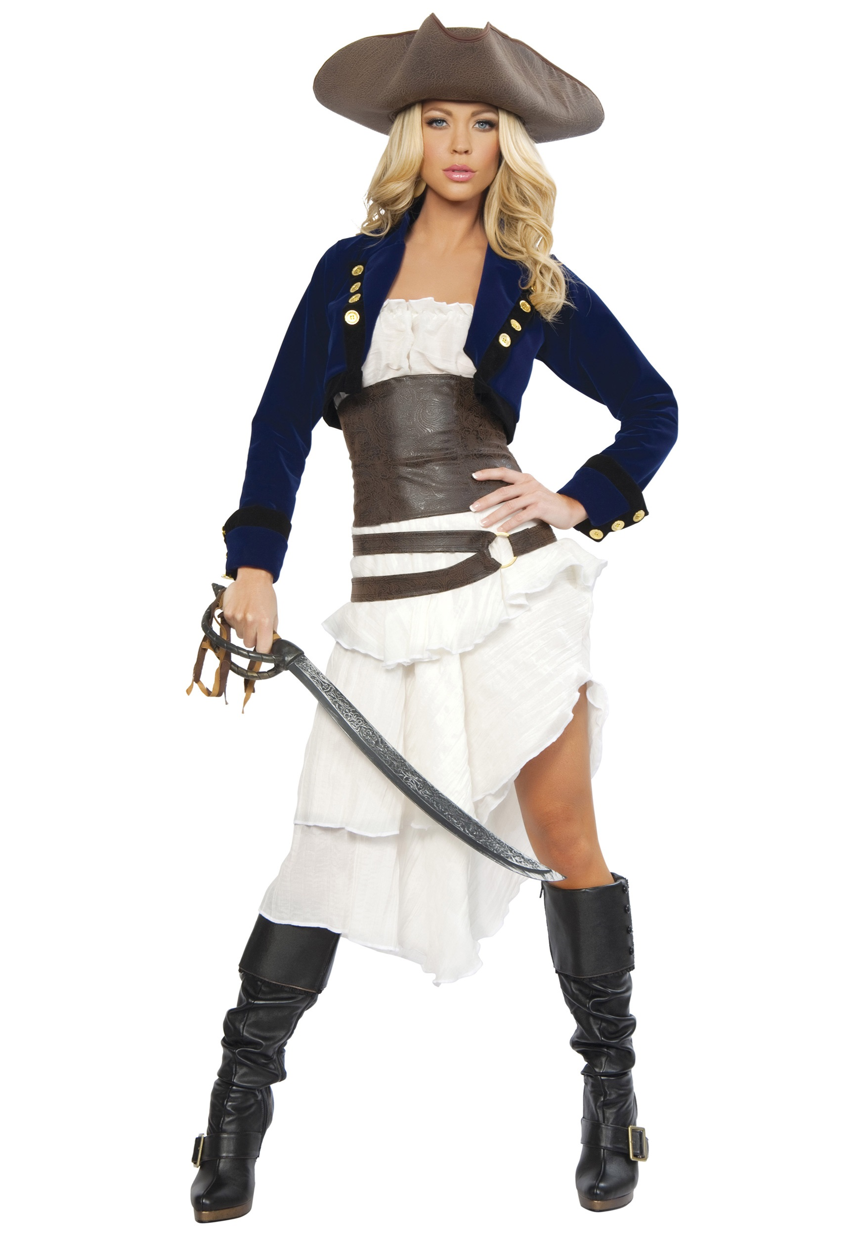 deluxe foxy buccaneer costume
