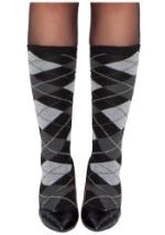 Womens Argyle Stockings