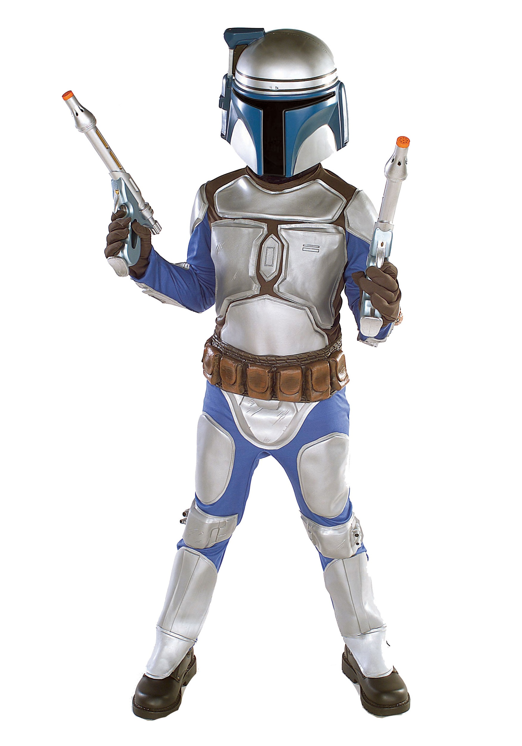 Jango Fett Kids Costume Deluxe - Child Jango Fett Star ...