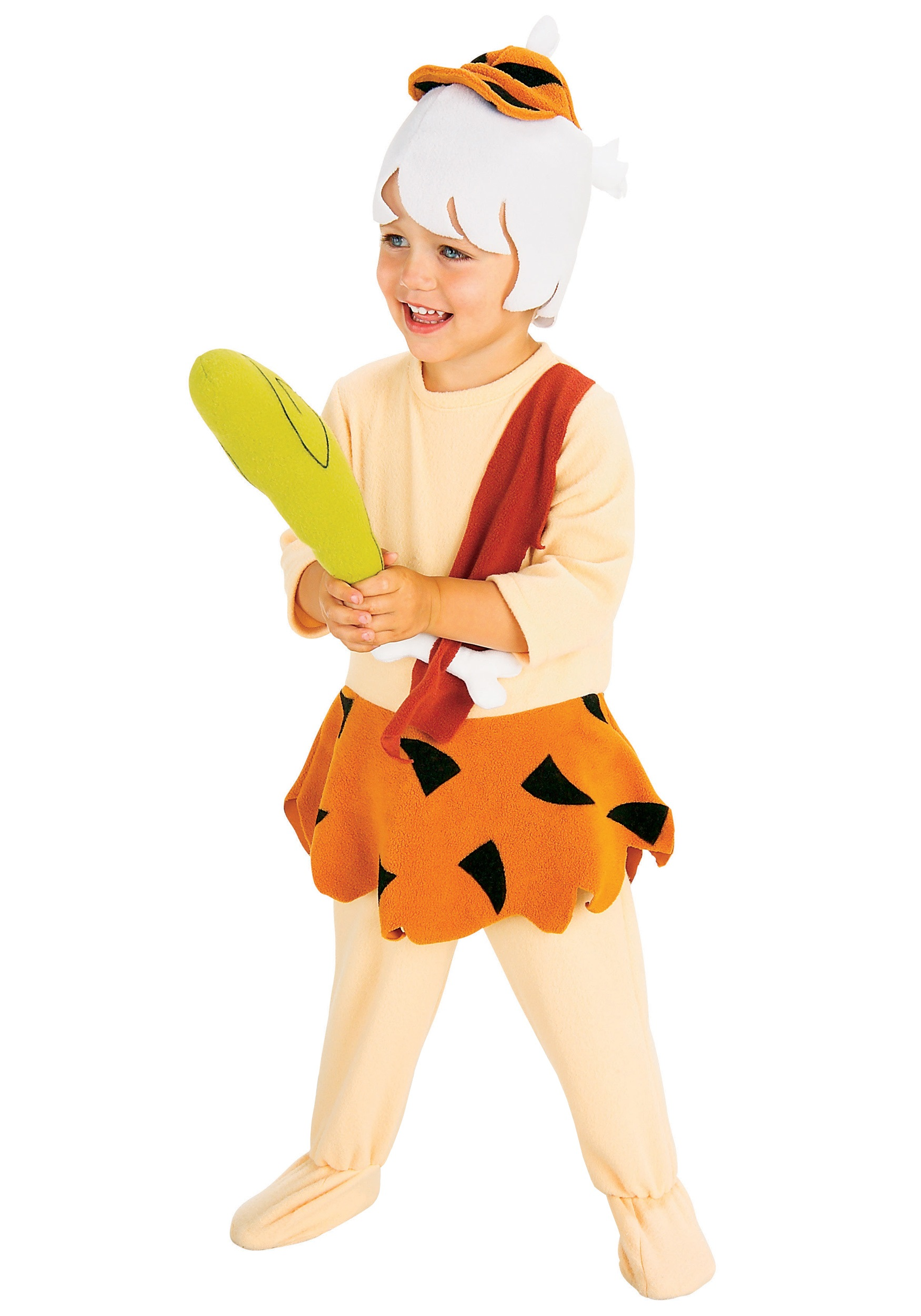 Bam Bam Toddler Costume - Flintstones Bamm Bamm Rubble Costumes