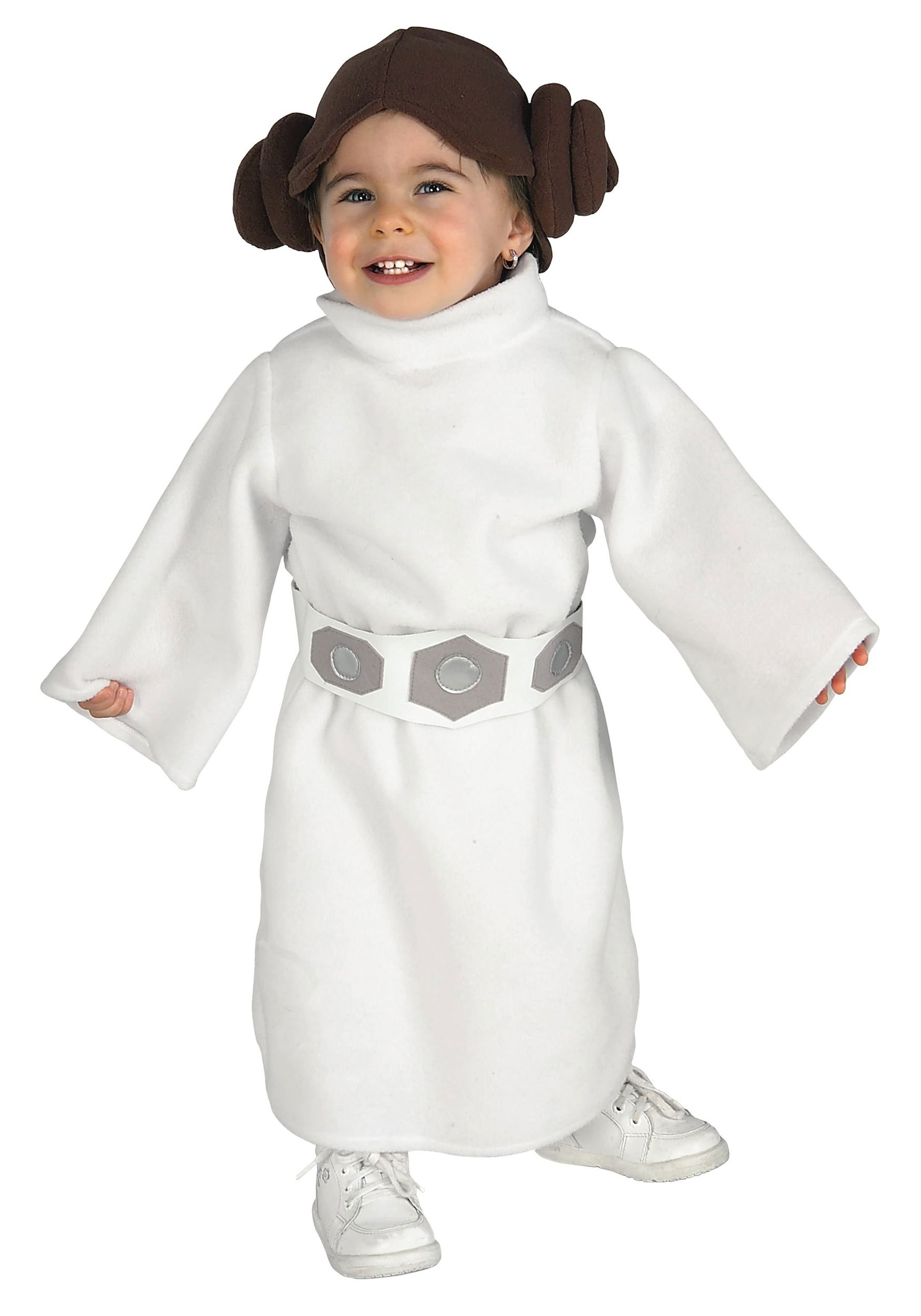 Princess Leia Toddler  sc 1 st  Halloween Costume & Princess Leia Toddler - Baby Princess Leia Star Wars Costumes