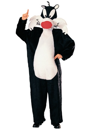 Adult Sylvester Looney Toon Costume