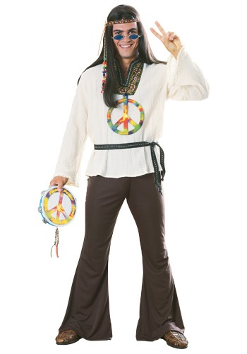 Adult Groovin' Hippie Costume