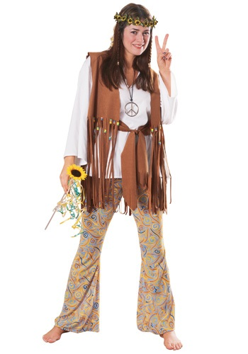 Womens Hippie Love Child Costume