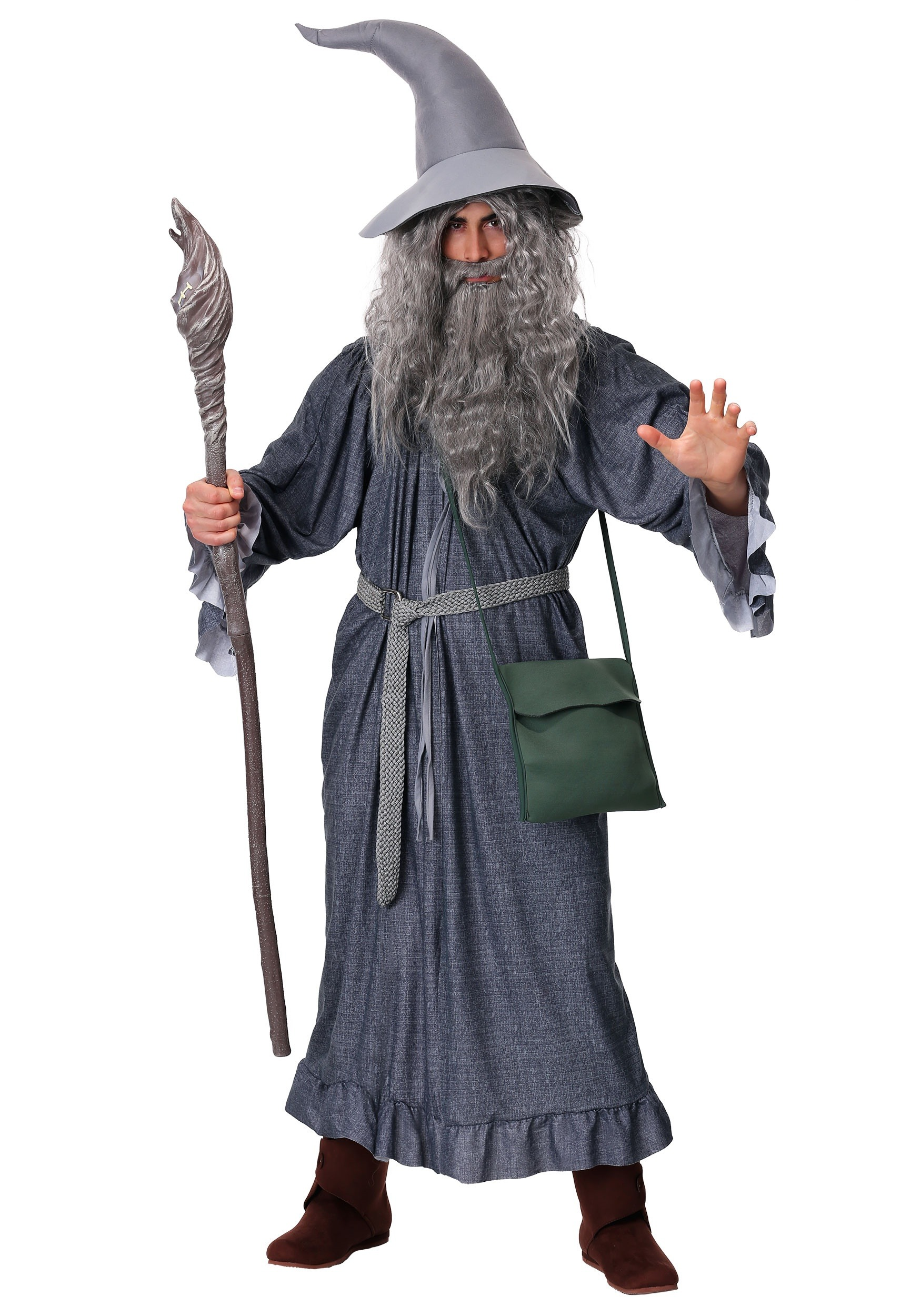 Adult Gandalf Wizard Costume  sc 1 st  Halloween Costume & Adult Gandalf Wizard Costume - Mens Lord of the Rings Movie Costumes