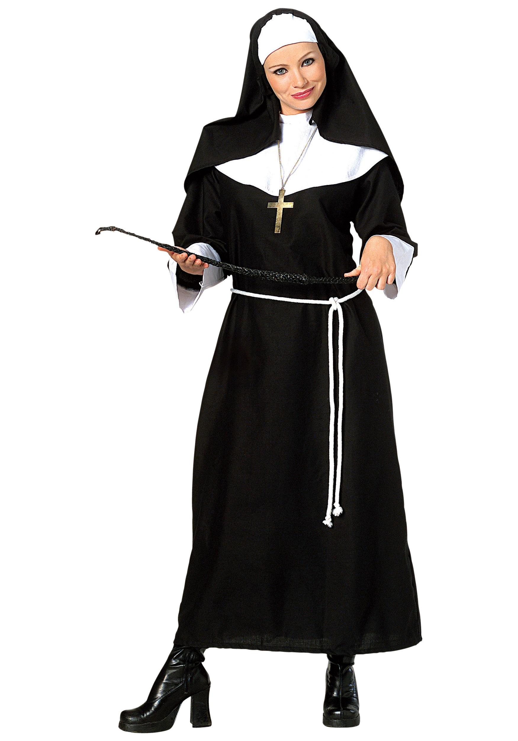 4ba7996635e Religious Halloween Costume   Adult Religious Nun Costume Sc 1 St ...
