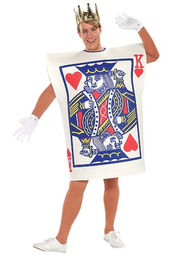 King of Hearts Costume