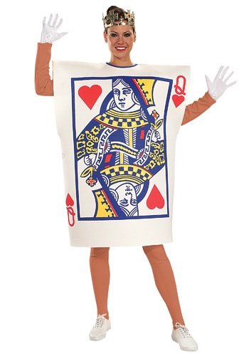 Adult Queen of Hearts Card Costume