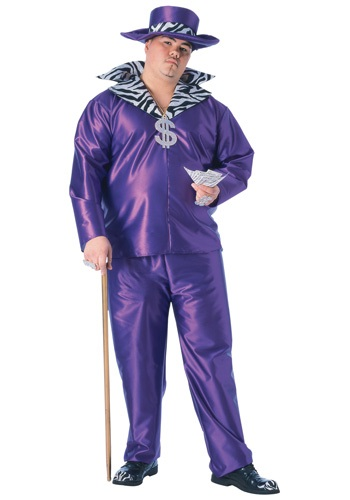 Plus Purple Pimp Daddy Costume