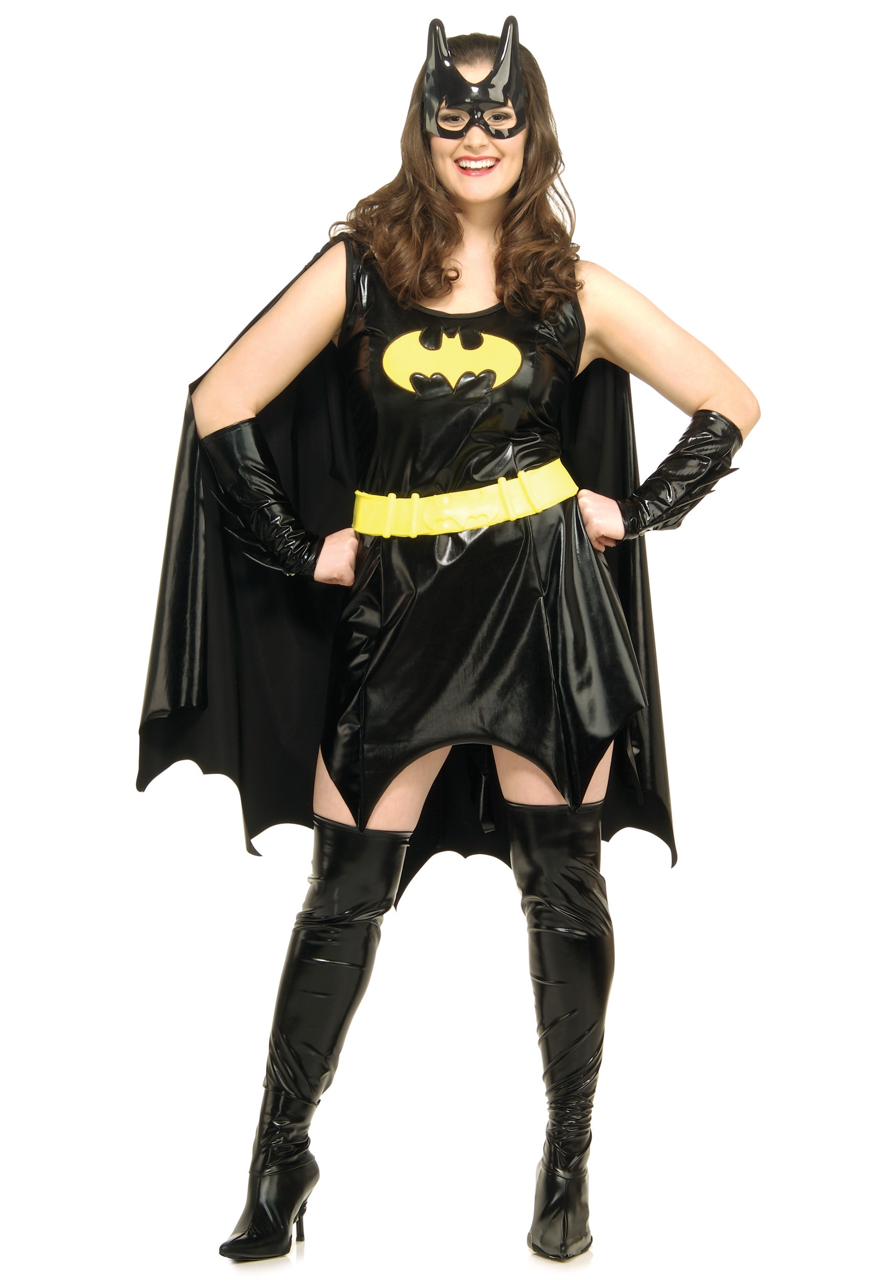 Plus Size Batgirl Costume  sc 1 st  Halloween Costume & Plus Size Batgirl Costume - Adult Batman and Batgirl Costumes