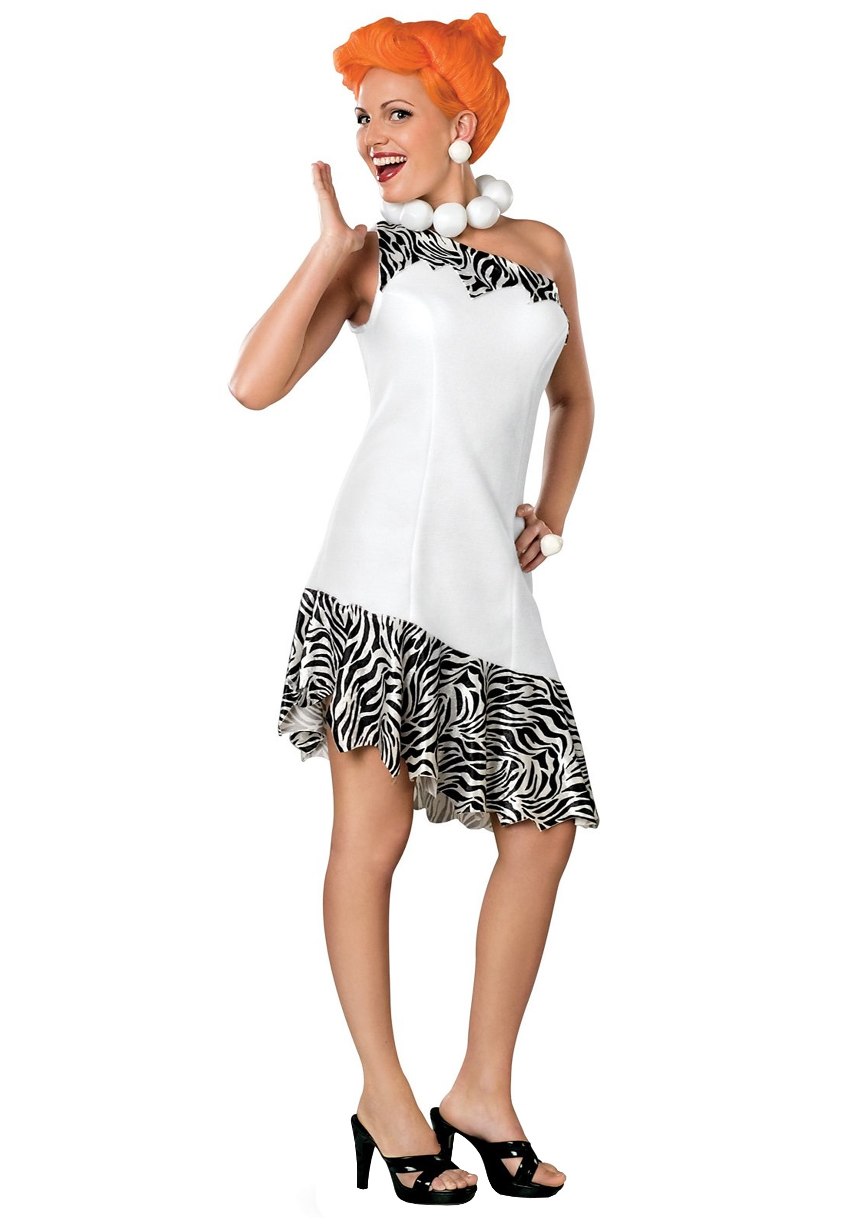 Plus Size Wilma Costume  sc 1 st  Halloween Costume & Plus Size Wilma Costume - Adult Wilma Flintstones Halloween Costumes