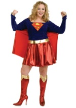 Plus Size Supergirl Costume