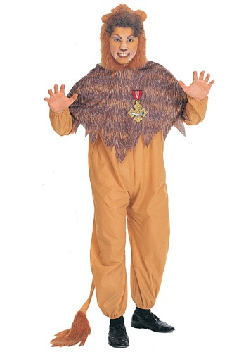 Cowardly Lion Plus Size