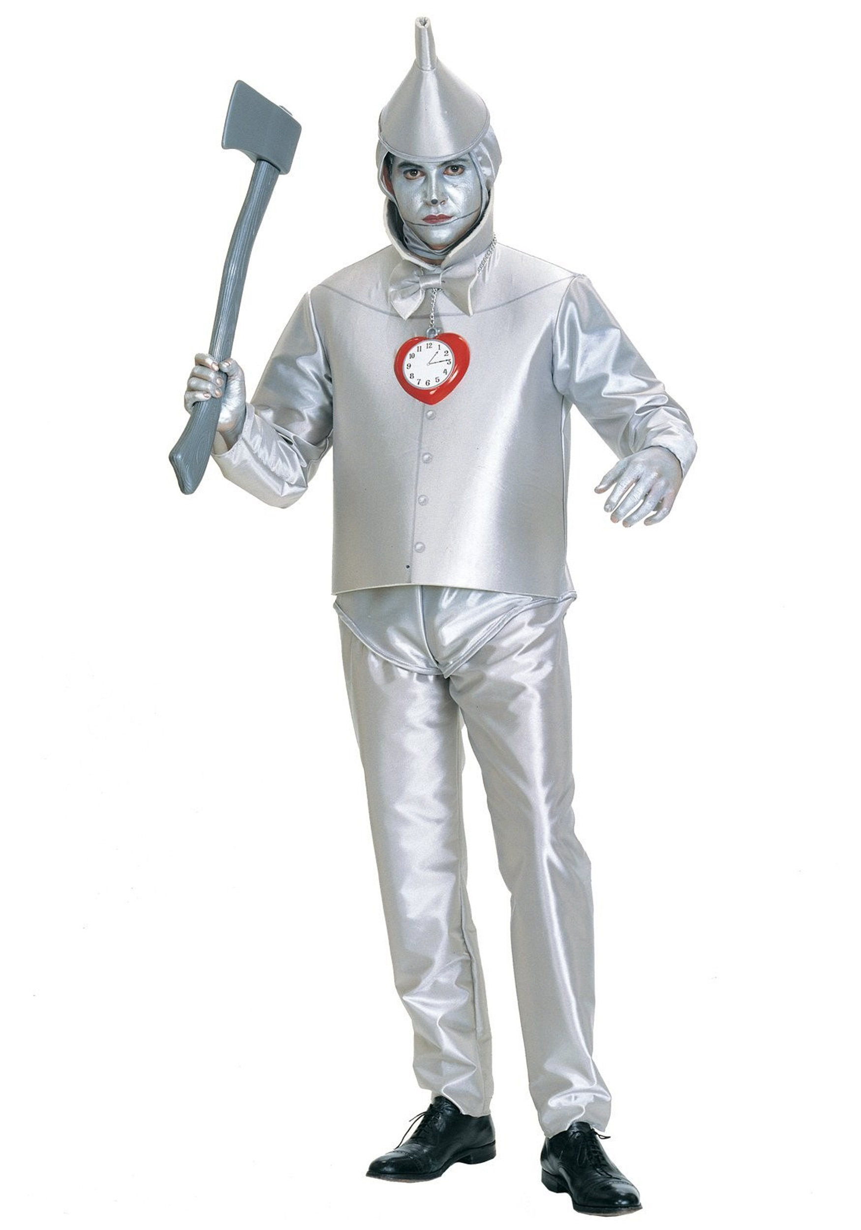 tin man plus size costume - licensed wizard of oz halloween costumes