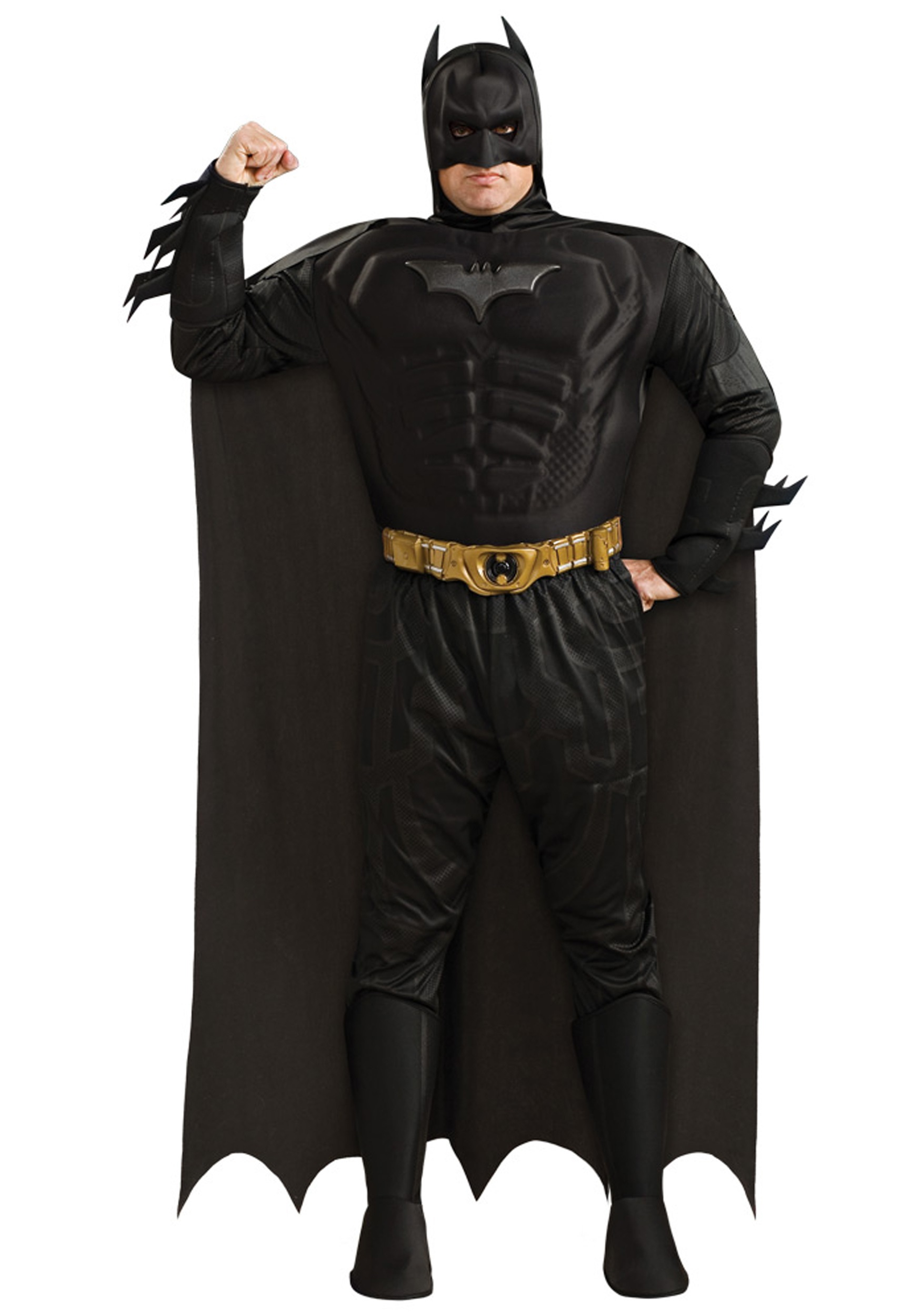 Plus Size Dark Knight Batman Adult Costume  sc 1 st  Halloween Costume & Plus Size Dark Knight Batman Adult Costume - Plus Size Superhero ...