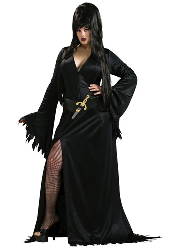 Sexy Plus Size Elvira Costume