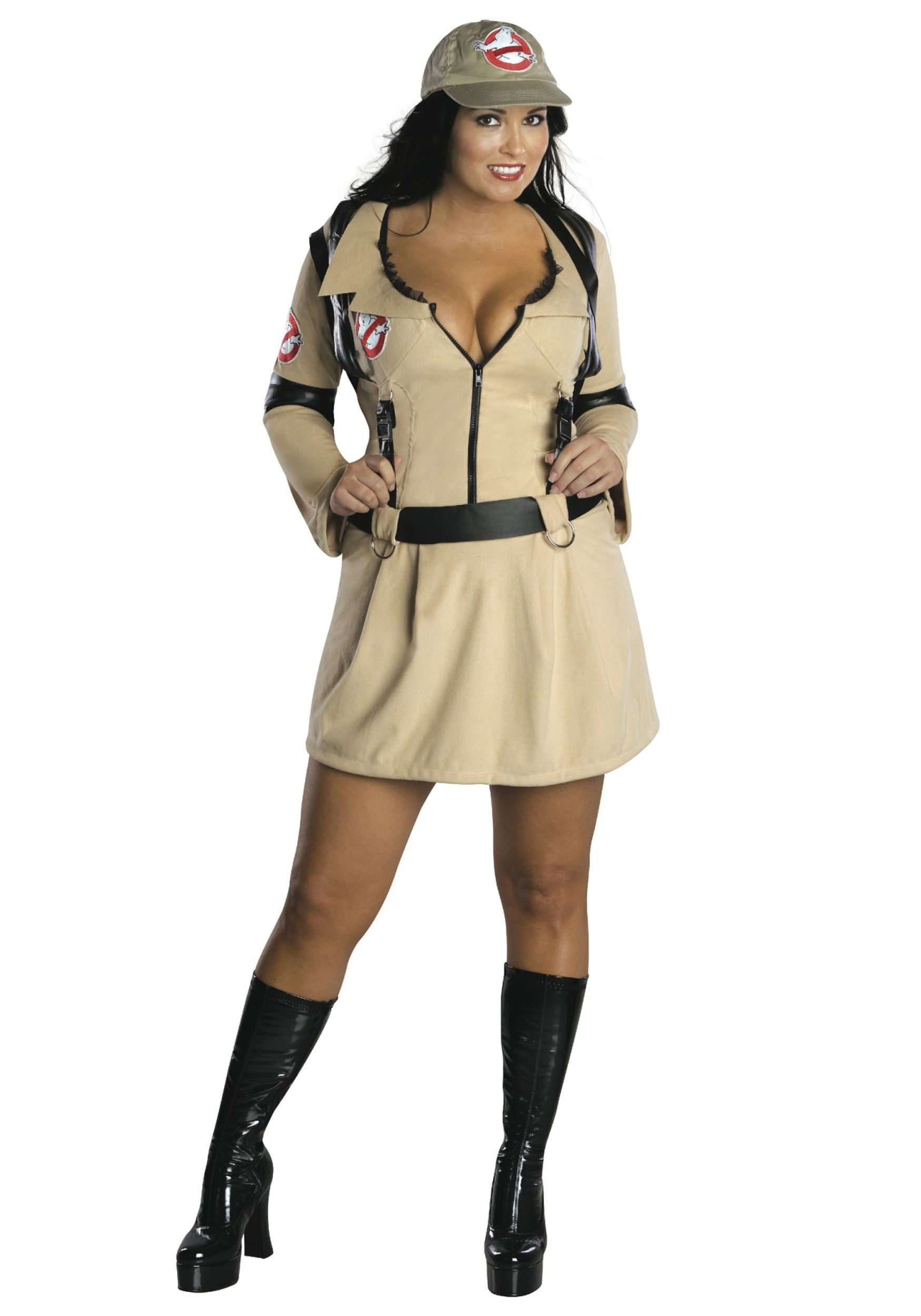 Sexy Ghostbuster Plus Size Costume Adult Ghostbusters Costume