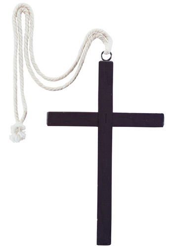 Wooden Priest Cross