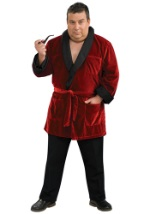 Playboy Plus Size Hugh Hefner Costume