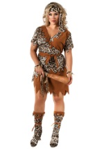Plus Size Wild Woman Costume