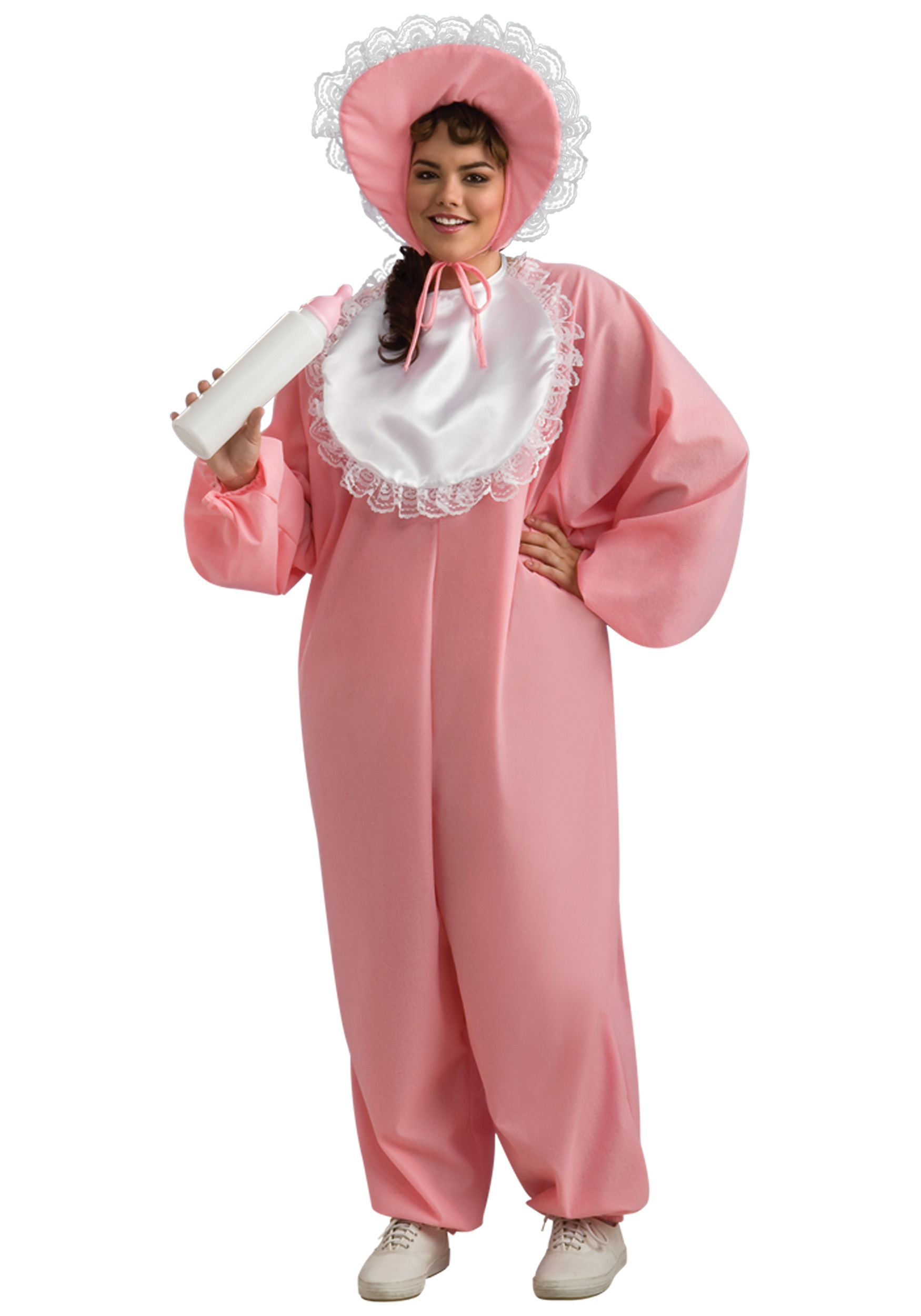 Plus Size Big Baby Girl Costume  sc 1 st  Halloween Costume & Plus Size Big Baby Girl Costume - Womenu0027s Baby Jumpsuits