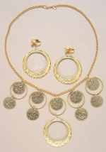 Golden Gypsy Jewelry Set