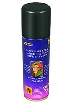 Black Color Hair Spray
