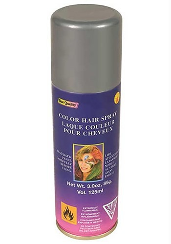 Silver Color Hair Spray