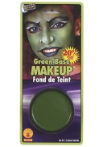 Green Costume Makeup