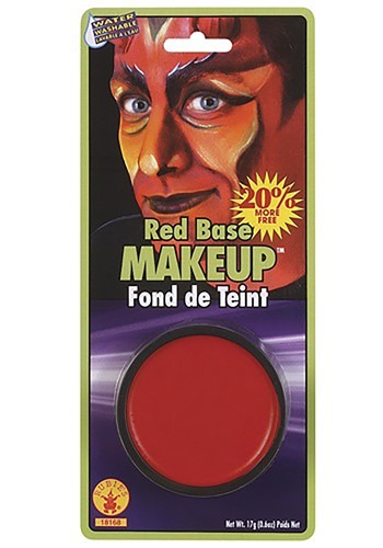 Fiery Red Base Makeup