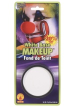 Clown White Base Makeup