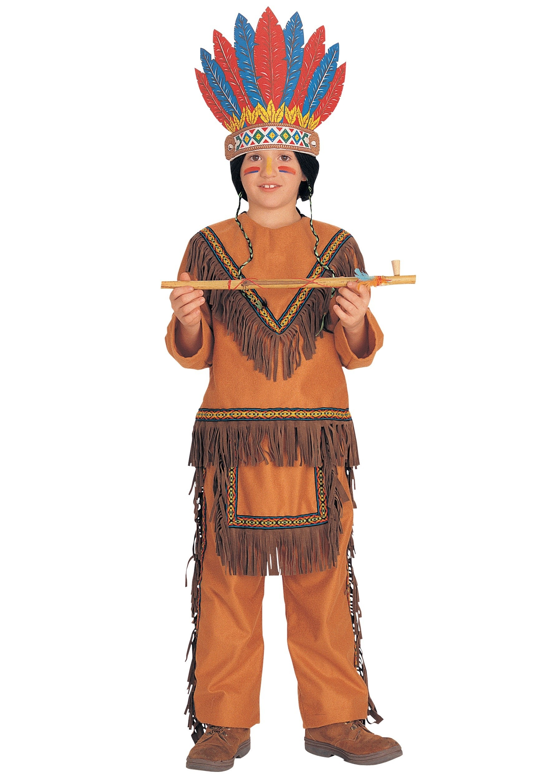 Boys Chief Costume  sc 1 st  Halloween Costume & Boys Chief Costume - Kids Indian Chief Halloween Costumes