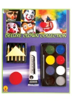 Clown Face Makeup Set