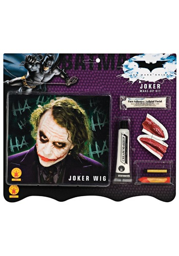 Joker Deluxe Wig and Makeup Kit
